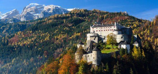 Ausflugsziel Festung Hohenwerfen - Urlaub in Österreich