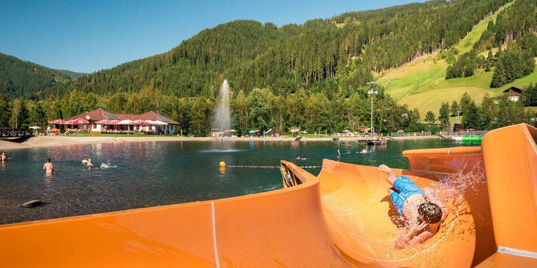 Erlebnisbadesee Eben - Ausflugsziele im Salzburger Land