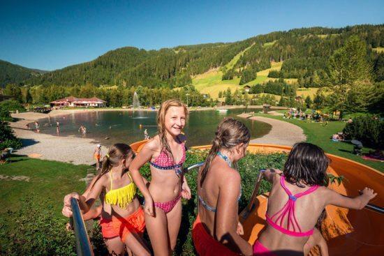 Baden - Sommerurlaub in Eben im Pongau
