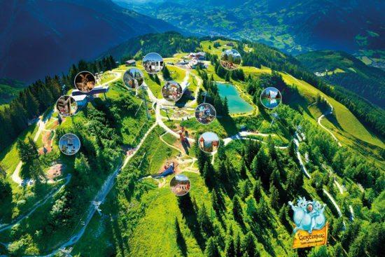 Geisterberg - Sommerurlaub in St. Johann-Alpendorf