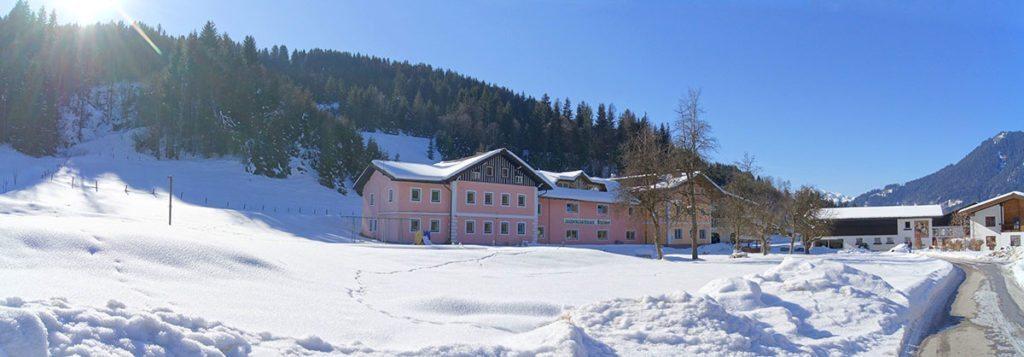 Jugendherberge im Salzburger Land, Jugendgästehaus Steiner in Eben im Pongau