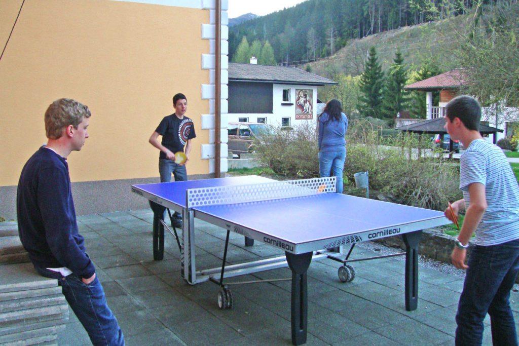 Jugendreisen & Klassenfahrten im Jugendgästehaus Steiner in Eben im Pongau, Salzburg