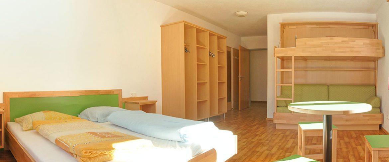 Jugendzimmer - Jugendhotel im Salzburger Land, Jugendgästehaus Steiner
