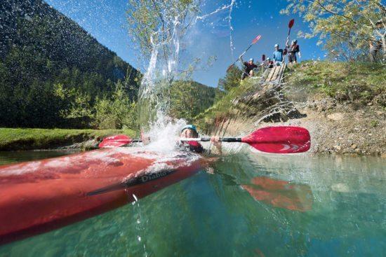 Kajak - Sommerurlaub in Flachau