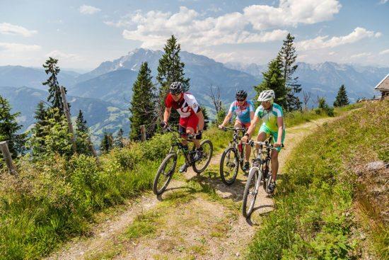 Mountainbiken - Sommerurlaub in Eben im Pongau
