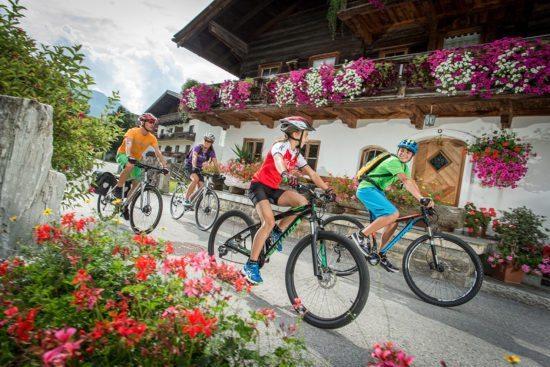 Radfahren - Sommerurlaub im Salzburger Land