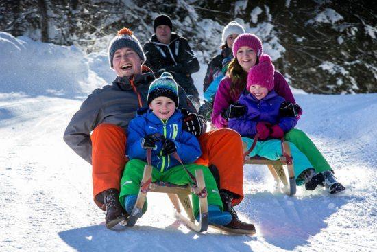 Rodeln - Winterurlaub in Eben im Pongau, Salzburger Land