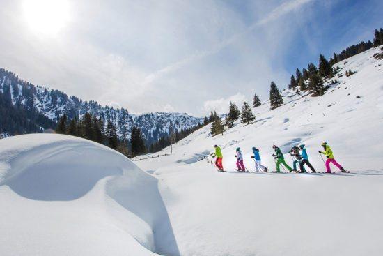 Schneeschuhwandern - Winterurlaub im Salzburger Land