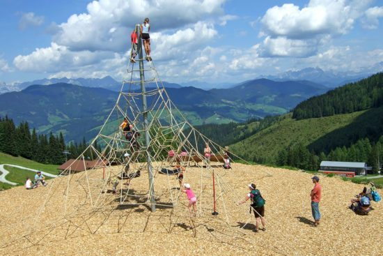 Wagraini's Grafenberg - Sommerurlaub in Wagrain