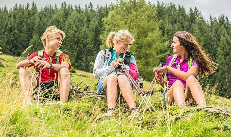 Sommerurlaub, Sommersportwoche im Salzburger Land